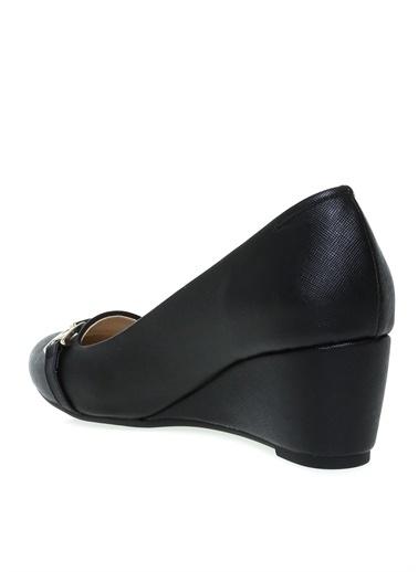 Pierre Cardin Pierre Cardin Dolgu Topuk Ayakkabı Siyah